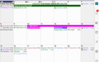 Month View iPad