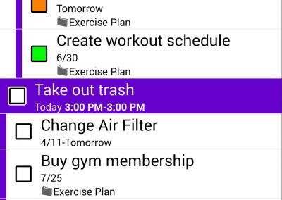 Multi-Select for Tasks