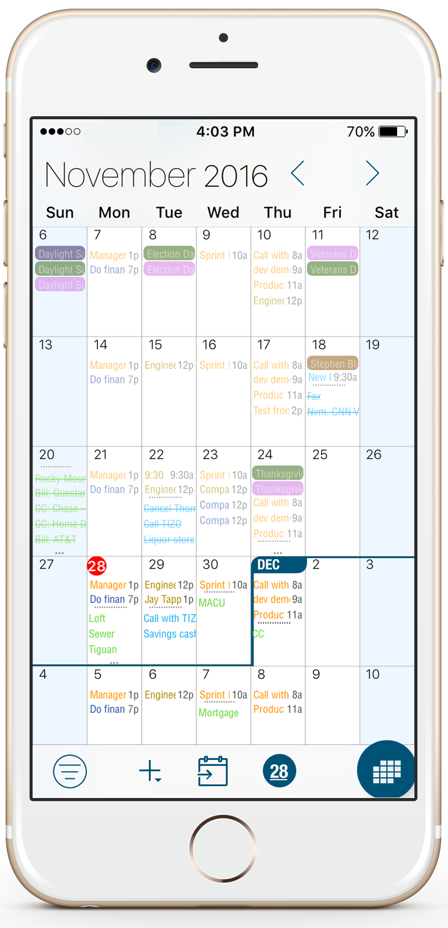 Best Calendar and Task App for iOS