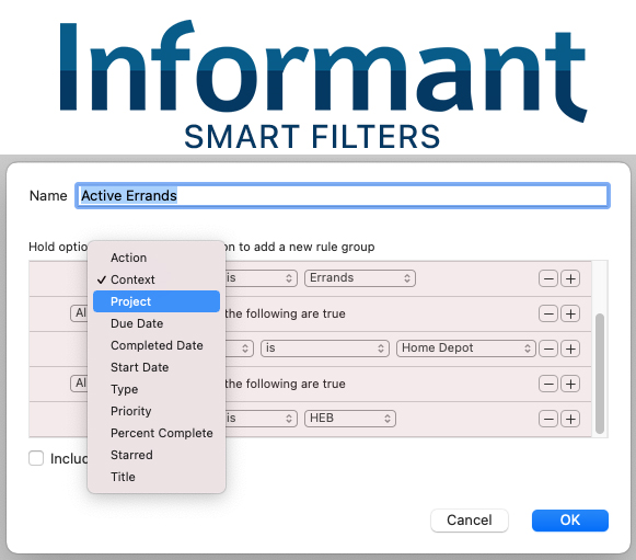 How to use Smart Filters